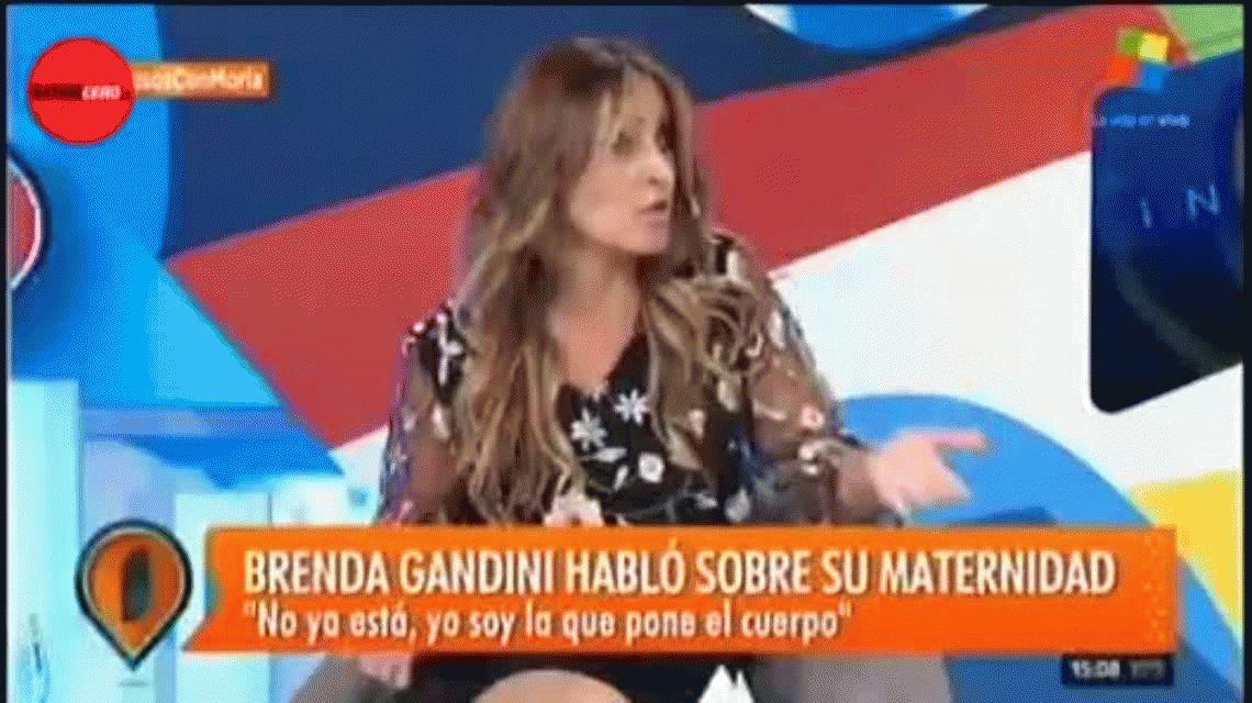 Marcela Tauro se quebró al aire y tuvo que abandonar Intrusos