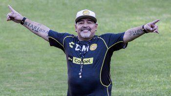 Maradona: No pasó nada, estoy perfecto