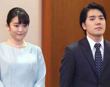Una princesa japonesa se casó con un plebeyo y dejó de ser parte de la realeza