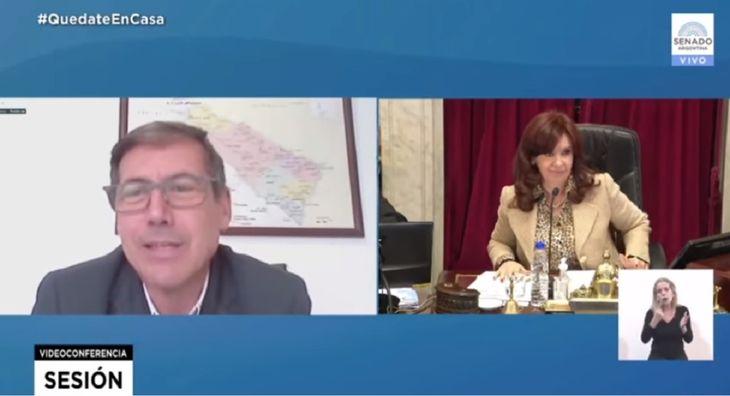 Cristina Kirchner se cruzó con senadores de Juntos por el Cambio