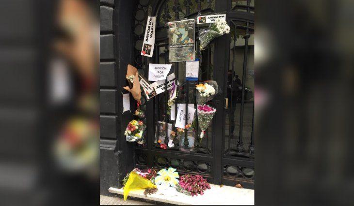 Recoleta: piden justicia por Violeta