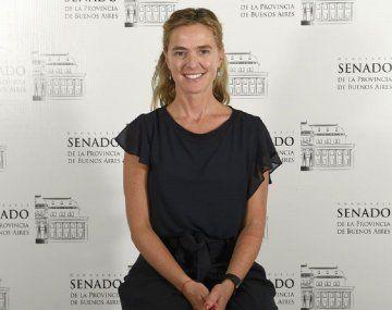 Felicitas Beccar Varela, senadora bonaerense de Juntos por el Cambio - Crédito: Senado BA