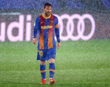 La imagen de Lionel Messi temblando da la vuelta al mundo