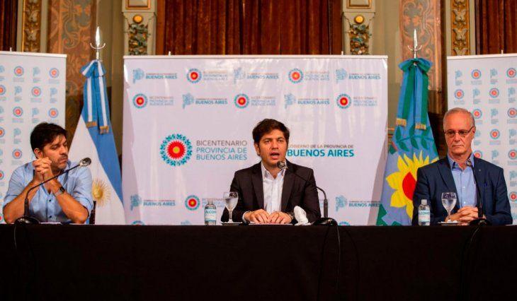 Kicillof analiza con intendentes la situación epidemiológica por videoconferencia