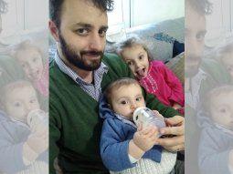 Matías Criado es psicólogo y padre de dos, una nena de 7 y un nene de 2.