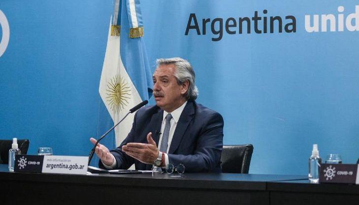 Alberto Fernández: Entre enero y febrero deberían estar vacunados 10 millones de argentinos