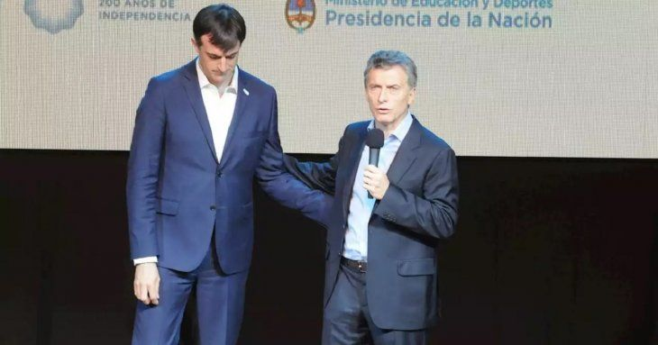 Después del mensaje de Cristina, Macri le deseó fuerza a Esteban Bullrich