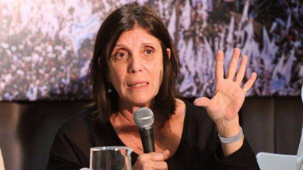 La ministra de Gobierno de la provincia de Buenos Aires, Teresa García