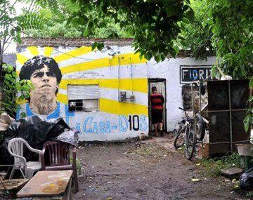 La casa natal de Maradona fue declarada lugar histórico nacional