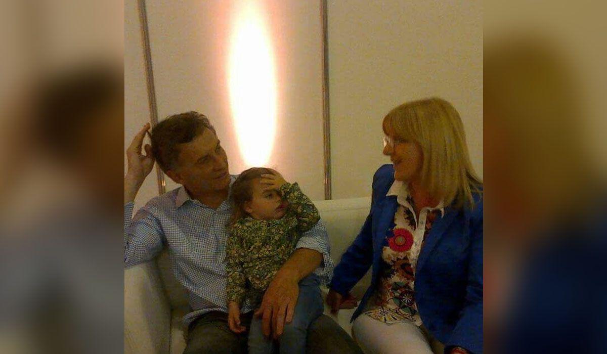 La foto que habla ¿Macri conoce a Susana?