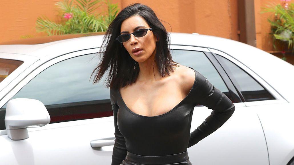 Kim Kardashian, sexy sin corpiño