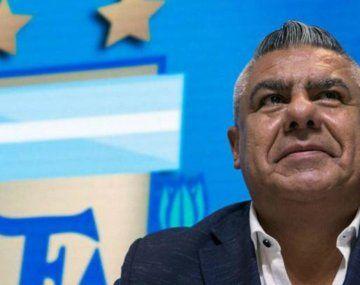 Qué dijo Chiqui Tapia sobre la polémica por el estadio para Argentina-Brasil