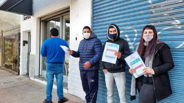 La Plata: una carnicería solicita «personal que se hayan vacunado contra el Covid-19»