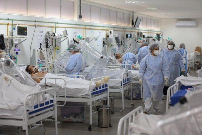 Brasil lucha por salir adelante en la segunda ola de contagios masivos por Covid-19