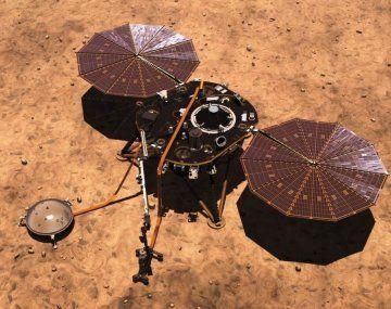 El InSight estará en Marte hasta diciembre de 2022 (calendario terrícola)