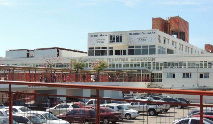 El Hospital Garrahan tiene una ocupación del 100% en las salas de chicos con coronavirus