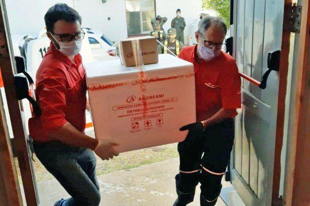 Entre Ríos recibió otro cargamento de la vacuna Sputnik V
