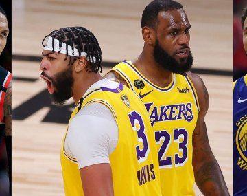 Space Jam: ¿quiénes son las estrellas de la NBA que acompañan a LeBron James?