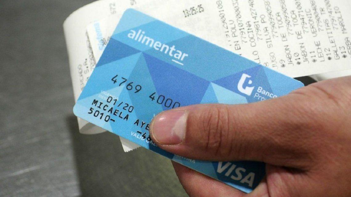 IFE: quienes tengan la tarjeta Alimentar percibirán los $10.000 a través de los bancos