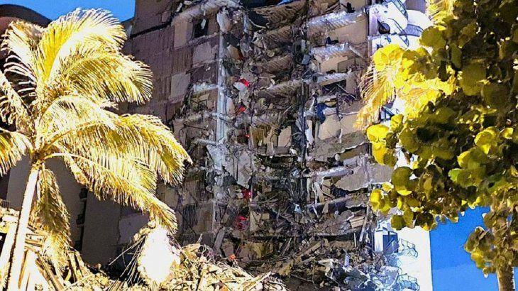 Derrumbe en Miami: se confirmaron más muertos