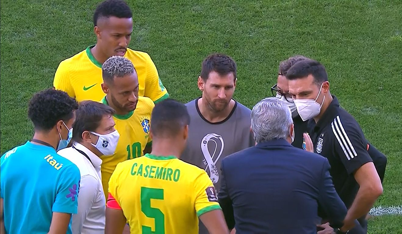 El video de Messi discutiendo con Juninho Paulista