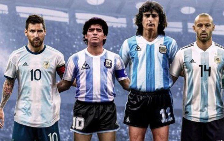 Polémica por los 16 íconos de la Selección Argentina que eligió la FIFA
