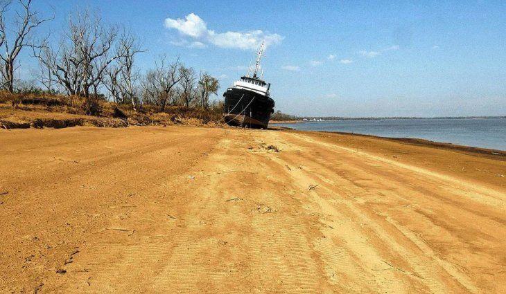 Bajante en el Río Paraná: advierten que se agravará la situación en las próximas semanas