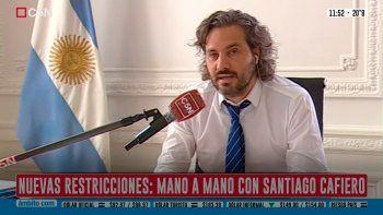santiago cafiero le respondio a patricia bullrich: busca un efecto electoral con la pandemia
