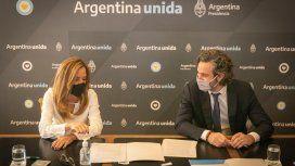 Victoria Tolosa Paz y Santiago Cafiero anunciaron la firma de un convenio entre Santa Cruz y Entre Ríos con elConsejo Nacional de Coordinación de Políticas Sociales