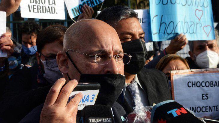El abogado Fernando Soto, aseguró que cree que su cliente va a ser absuelto.
