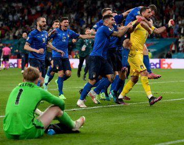 Euro 2020: Italia venció a Inglaterra en los penales y es el campeón