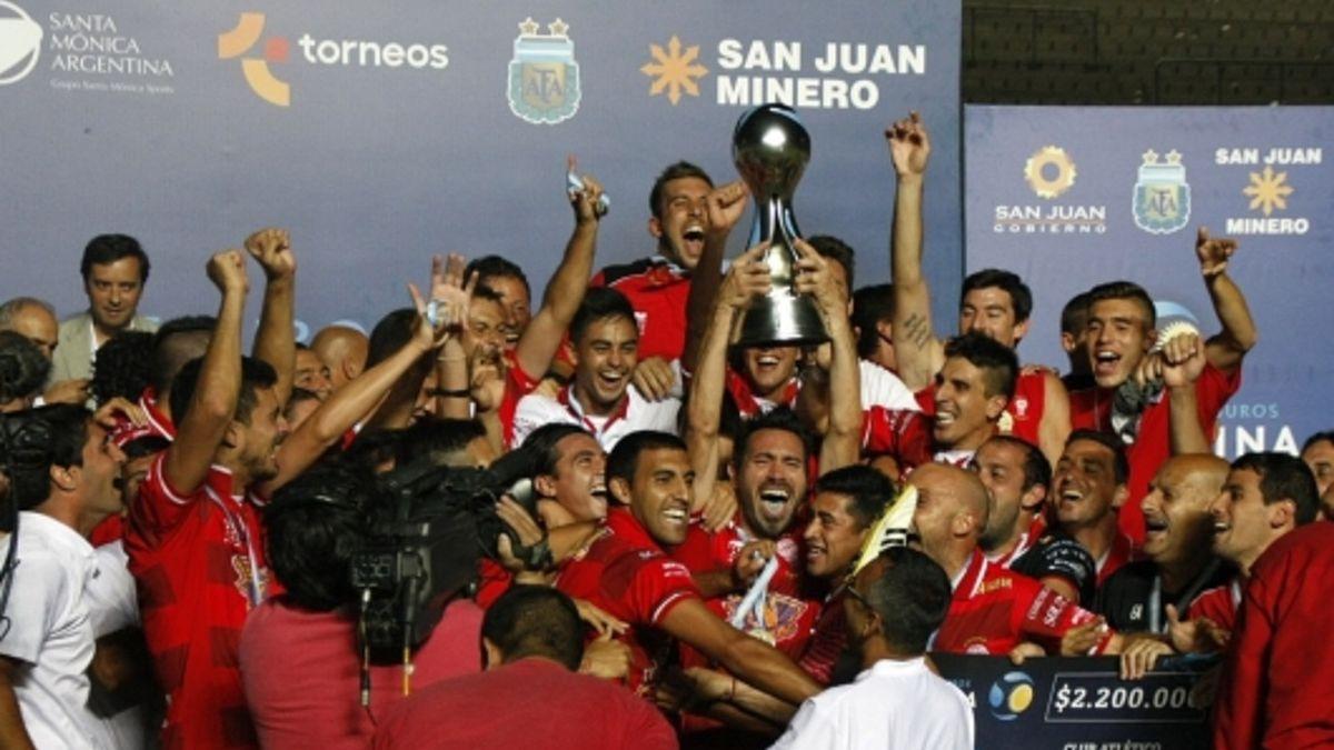Huracán campeón de la Copa Argentina