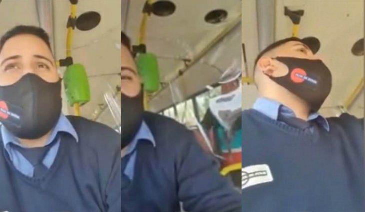 Una pasajera escupió a un colectivero en La Plata: Acá tenés tu coronavirus
