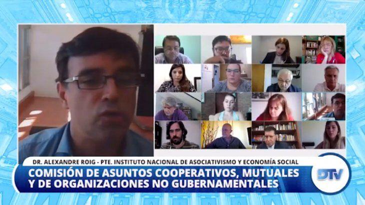 Diputados: el titular de INAES brindó un informe sobre la actividad cooperativa