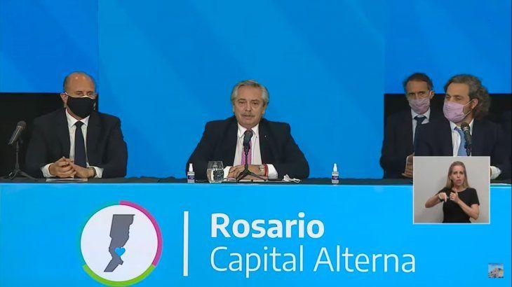 Alberto Fernández: En Rosario el crimen organizado se ha instalado