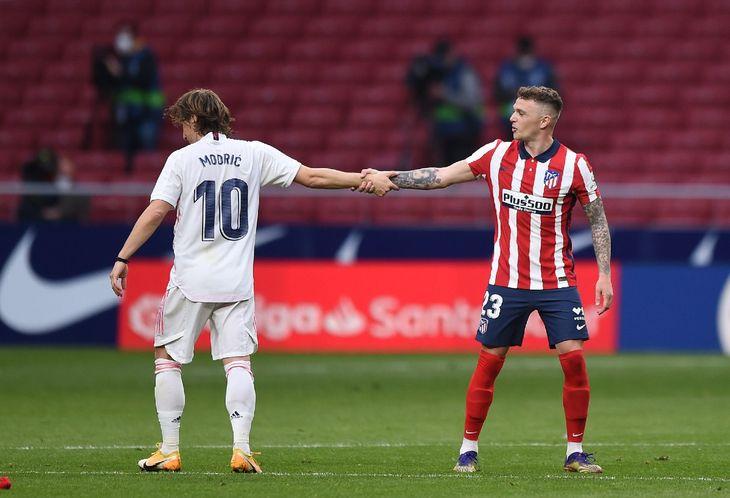 Atlético de Madrid y el Real Madrid empataron en el derbi español