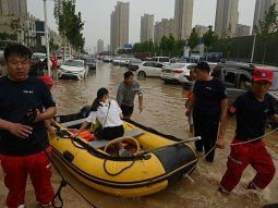 inundaciones en china: ascienden a 51 los muertos