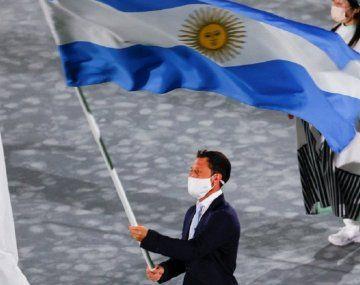Quién fue abanderado argentino en la clausura de Tokio 2020