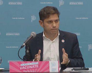Provincia de Buenos Aires: Axel Kicillof anunció medidas para la segunda ola de la pandemia