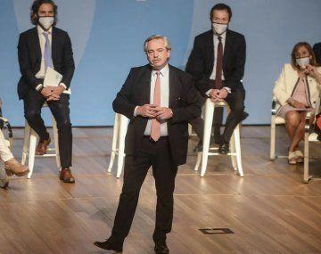 Alberto Fernández llamó a construir una Argentina armónica y equilibrada