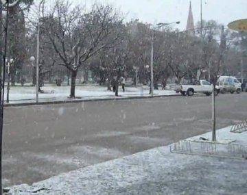 En qué ciudades de la provincia de Buenos Aires puede nevar