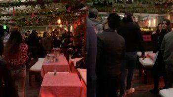 clausuraron un bar en palermo: habia 70 personas sin barbijos