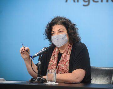 Vizzotti aseguró que mientras se reciben más vacunas ya se piensa en las del año próximo