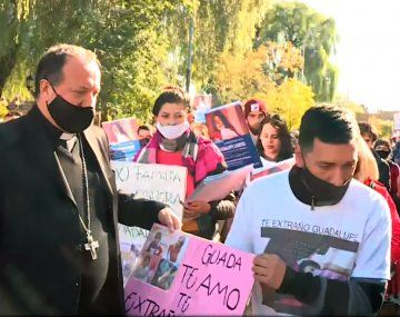 Búsqueda de Guadalupe Lucero: familiares y amigos marchan en San Luis