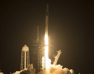 VIDEO: Así despegó la tercera misión de SpaceX a la Estación Espacial Internacional
