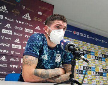 Rodrigo de Paul: La ilusión en la Copa América está intacta