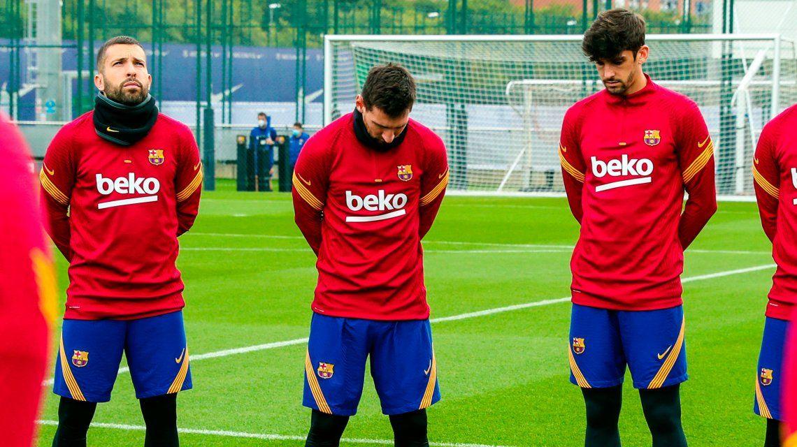barcelona-messi-minuto-silencio-maradona
