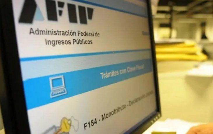 La AFIP extiende facilidades a contribuyentes para evitar trámites presenciales