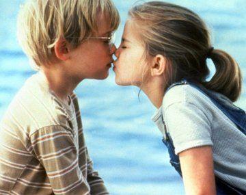 Escena de Mi primer beso (1991)