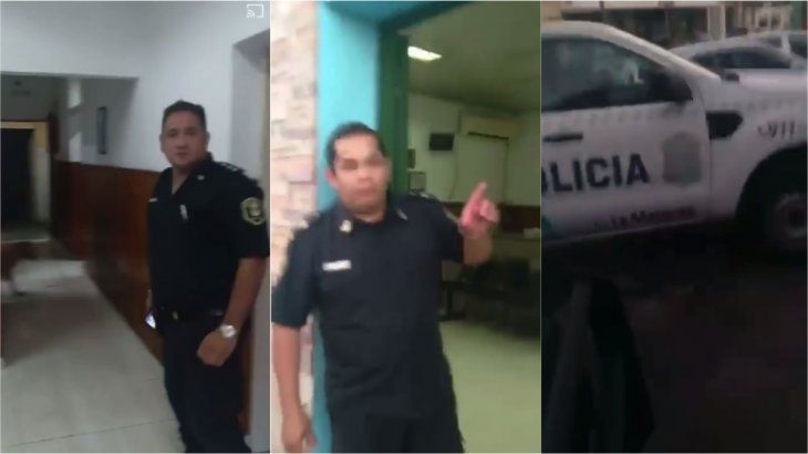 VIDEO: Asaltaron a su hermana, y como la Policía no la auxilió, hizo un escrache